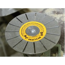 Diamantový brúsny kotúč Diaclear Ø 115 mm pre uhlové brúsky Drážkový 126/126