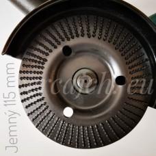 Rašpľový kotúč zapustený šikmý Jemný 115 (KRS-07)