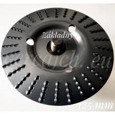 Rašpľový kotúč zapustený šikmý 125 (KRS-12) Zakladný