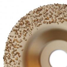 Tvrdokovový brúsny kotúč s hranou (stredný) 115 mm