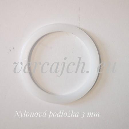 Distančná podložka nylonová 3 mm