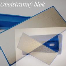 Diamantový blok v stojane-obojstranný